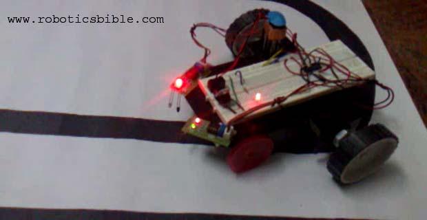 Simple Line Following Robot Without Microcontroller Robotics Bible
