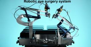 robotic eye surgery system