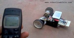 image cell phone controlled robot