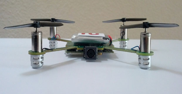 MeCam autonomous quadrotor